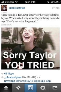 Sorry girl, now go be friends with The Wanted .. we don't want anything to do with either of yous.