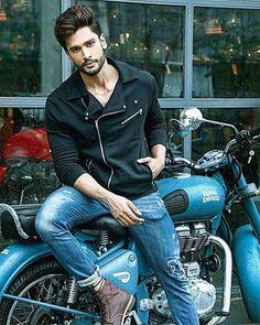 Indian model Rohit Khandelwal Mr World ( Biker Photography, Portrait Photography Men, Photography Poses For Men, Mens Photoshoot Poses, Photoshoot Pose Boy, Best Poses For Men, Good Poses, Male Models Poses, Male Poses