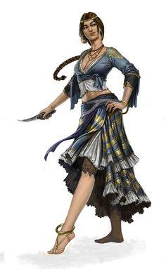 Tanzende Gaunerin