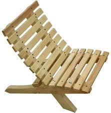 Resultado de imagem para sillas de madera para jardin