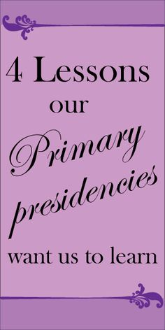 I'm so excited to share today's post with you. I asked many Primary presidency members to share what they wish all Primary music leaders ...