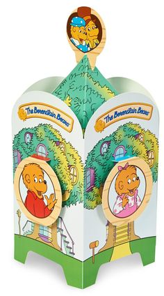 The Berenstain Bears Paper Centerpiece from BirthdayExpress.com