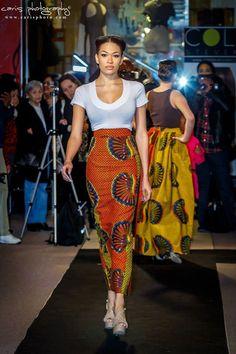 African clothing, African skirt, African fabric, High Waist Maxi Skirt, Pencil…