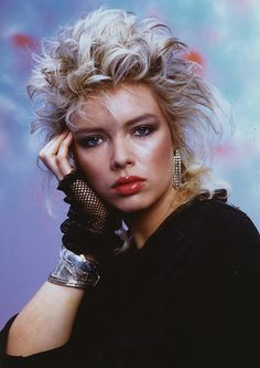 Kim Wilde, I blame you entirely for my hair 1986-1988.