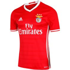 Køb Adidas Benfica Hjemmebanetrøje 2016 17 i Rød online Football Shirts 3266b9716