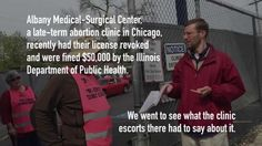 Abortion escorts IGNORE Health Department evidence of license revocation and fines for the clinic they volunteer at. Entp, Health Department, Public Health, Clinic, Medical, Sayings, Lyrics, Medicine, Med School