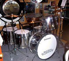 John Henry Bonham's drum kit, now owned by Jason Bonham