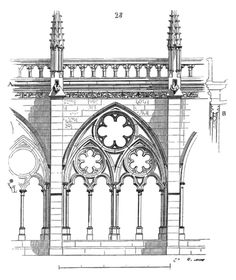 Gothic Architecture Drawing, Architecture Details, Medieval Gothic, Heaven's Gate, Cathedral Windows, Jojo's Bizarre Adventure, France, Taj Mahal, Drawings