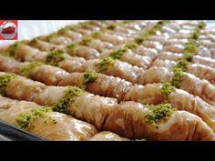BAKLAVA DA ÇIĞIR AÇACAK (Baklava Hamuru Ve Burma Baklava Tarifi ) - YouTube Best Baklava Recipe, Turkish Baklava, Asparagus, Vegetables, Desserts, How To Make, Recipes, Youtube, Food