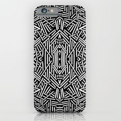 Radiate (BW) iPhone & iPod Case