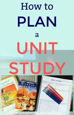 How to Plan a Unit Study – Homeschool Planning – Faithful Pursuit Unit Study / Homeschool Planning / Planen einer Unit Study / Free Planner Printables … Kindergarten Homeschool Curriculum, Homeschool Kindergarten, How To Homeschool, Homeschooling Resources, Study Planner, Free Planner, Happy Planner, Planer, Just In Case