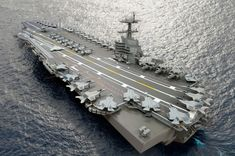 The aircraft carrier John F. Kennedy (CVN 79) is the second ship in the Gerald R. Ford class, the Navy's newest class of nuclear aircraft carriers. The ship's first steel was cut in Dec. 2010, and delivery to the Navy is scheduled no later than 2022.