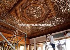 Photo of Moroccan Wood ceiling_02