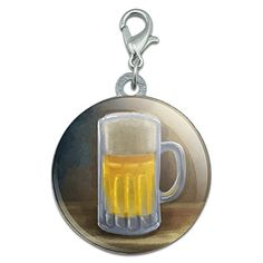 German Beer Mug Stainless Steel Pet Dog ID Tag ** Read more reviews of the product by visiting the link on the image.