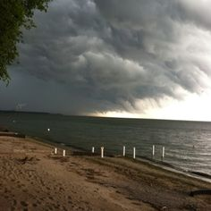 Lake Erie  - storm brewing