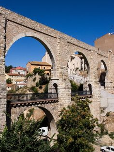 Aqueduct of the Arches in Teruel:  Spain
