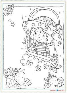Desenhos da Moranguinho Para Colorir | Imagens desenhos para colorir