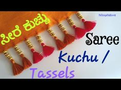 Saree Jacket Designs, Saree Tassels Designs, Saree Kuchu Designs, Blouse Designs, Crochet Flower Tutorial, Crochet Flowers, Saree Jackets, Long Gown Dress, Work Blouse