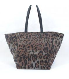 Shopping bag print leopardo