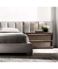 Home Decorating Idea Phot Contemporary Bed 143 Master Bedroom Design, Home Bedroom, Bedroom Decor, Master Bedrooms, Contemporary Bedroom, Modern Bedroom, Bedroom Vintage, Contemporary Furniture, Headboards For Beds