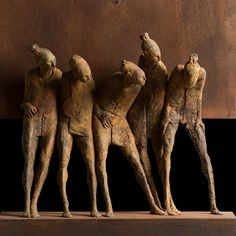 Max Leiva is a Guatemalan sculptor whose work focuses mostly on the figure. His style is informed by his tavels around the world, from Switzerland to Bangkok, where he lived for two years. This life experience allows Leiva to embrace a wide visual field in converging world cultures.