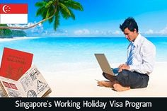 Combine #Work With #Holiday - #Singapore's #Work #HolidayProgram. Read more...   https://www.blog.morevisas.com/combine-work-with-holiday-singapores-work-holiday-program/