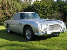An Aston Martin DB5. If it's good enough for Mr. Bond, it's good enough for me.