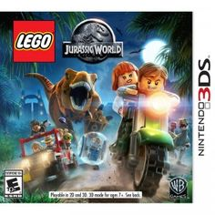 In LEGO Jurassic World from Warner Bros. players will explore, smash, and build their way through levels that are based on all four movies, including Jurassic World.