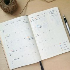 @penpapersoul Bullet Journal: Good morning! How was your weekends? While having good meal and time, I spent some quality time in journaling and finished up my September monthly spreads setup. Here's my monthly log where I jot down all events before migrating to daily  page.