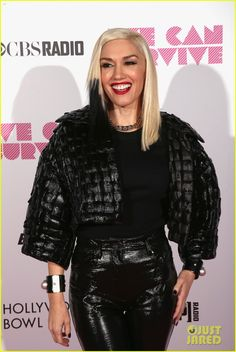 Pharrell Williams & Gwen Stefani Close Out We Can Survive Concert - SHE IS A GODDESS! WITHOUT HESITATION I WOULD DRINK THE COOL AID SHE US SERVING!!!YOWZA!!!!!!SHE LOOKS LIKE THIS AFTER 3 KIDS!!!