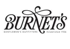 Designspiration — Typeverything.com @typeverything Burnet's logo... - Typeverything