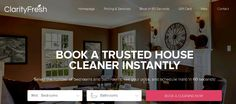 ClarityFresh House Cleaning & Maid Services has provided an unparalleled level of home cleaning services to Broward County & West Palm Beach. Our housekeepers, along with our state-of-the-art equipment provide customers an affordable line of unmatchable house cleaning services. http://clarityfresh.com