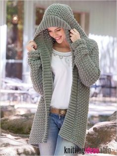 20 Free Crochet Sweater Patterns Perfect for Chilly Days - Ideal Me - Free Knitting Pattern Weekend Casual Hooded Sweater Crochet Pattern - Free Knitting Pattern Always aspired to learn how to . Crochet Coat, Crochet Cardigan Pattern, Crochet Shawl, Crochet Clothes, Free Crochet, Crochet Sweaters, Crochet Hoodie, Hoodie Pattern, Hooded Scarf Pattern