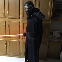 STAR WARS COSTUMES: - This suit is fantastic - customer Garrett Welborn reviews our Kylo Ren Costume
