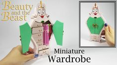 Miniature DIY: Beauty and the Beast Wardrobe - YouTube