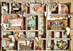 Retreat Memories  ~~Imaginarium Designs~~ - Scrapbook.com--KAREN DID A FAB JOB!!!!!