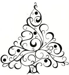 Christmas Tree Design For Cards. Christmas tree design for cards christmas tree drawing - Drawing Tips Christmas Tree Drawing Easy, Xmas Drawing, Card Drawing, Christmas Tree Design, Simple Christmas, Christmas Art, Christmas Decorations, Drawing Tips, White Christmas