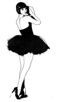 Art Deco 1920's Flapper