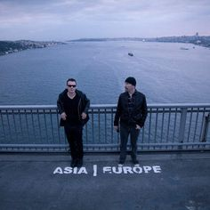 U2 ~ Larry & The Edge in Istanbul