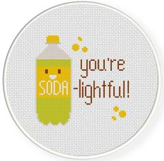 Hey, I found this really awesome Etsy listing at https://www.etsy.com/listing/185536558/soda-lightful-pdf-cross-stitch-pattern