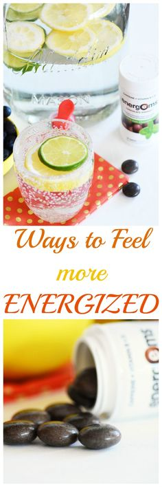 Ways to feel more energized throughout the day. Lacking energy? Check out these fool-proof ways to get more and conquer the day! AD #TheBestMe