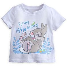 Disney Thumper Tee for Baby | Disney StoreThumper Tee for Baby - Baby will feel as cute and cuddly as <i>Bambi</i>'s funny bunny, Thumper, in this soft all-cotton tee with cunning character art. Hop to it!