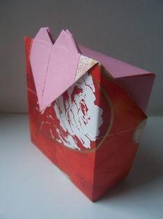 情人节|春节必备折纸礼盒制作教程完成后精美的效果图