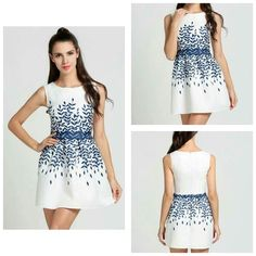 Beautifu white dress Price 1200 Sizes Small to XL  Material polyester