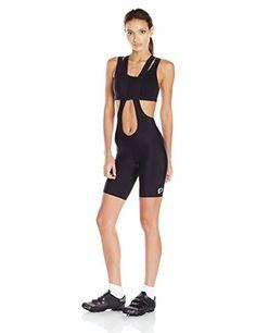 Black Small Pearl Izumi Womens Pro Escape Bib Shorts