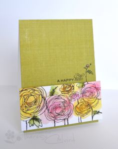 Muse: Muse Challenge - ooh, I know what stamp set I need to break out for this one. Flower Stamp, Flower Cards, Watercolor Cards, Watercolor Flowers, Watercolor Tips, Watercolor Techniques, Distress Markers, Distress Ink, Sending Hugs