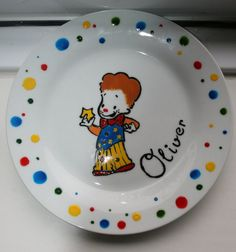 MR TUMBLE personalised porcelain plates with by Platefull on Etsy Mr Tumble, Birthday Parties, Porcelain, Party Ideas, Plates, Unique Jewelry, Tableware, Handmade Gifts, Cards