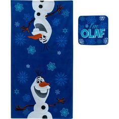 Disney Frozen Olaf 2-Piece Towel Set