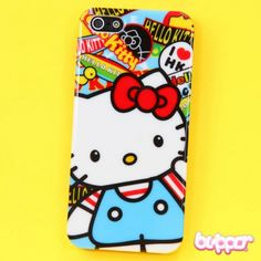 Hello Kitty Protective Case for iPhone 5 / 5S - I Love HK