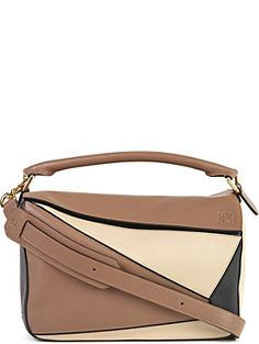LOEWE Puzzle panelled leaather multi-fucntion bag